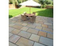 Buff blend (600 series) Indian sandstone.