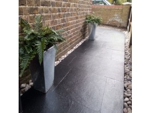 Carbon (Kota Black) Limestone, 5 sizes, 600 wide, calibrated to 22mm thick