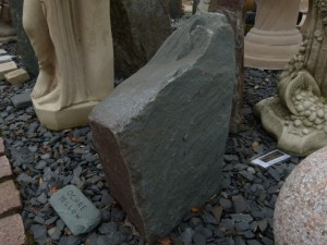 Slate Drilled Monolith 18 Inch