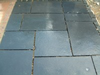 Carbon (kota black) limestone Paving